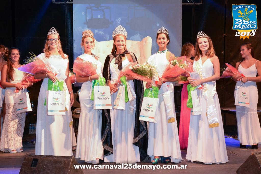 Claudina Tellechea Herrera es la Reina Provincial del Carnaval 2018